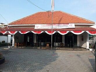 Kwitang - The building of the Museum Sumpah Pemuda.