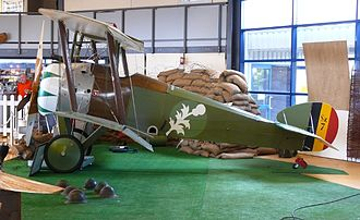 Belgian Air Component - Sopwith Camel in the colours of the Belgian 1st Squadron