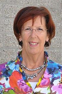Mw. Jorrisma-Lebbink Voorzitter van Koninklijke Schuttevaer.JPG