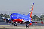 N203WN Southwest Airlines 2005 Boeing 737-7H4 C-N 32483 (10550104374).jpg