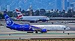 """N265AK Alaska Airlines Boeing 737-990(ER) s-n 62682-6113 """"Honoring Those Who Serve"""" (26480132739).jpg"""