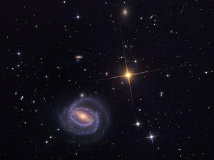 Die Galaxie NGC 266 aufgenommen mit dem 81-cm-Spiegelteleskop des Mount-Lemmon-Observatoriums.