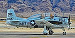 N757K 1954 North American T-28C C-N 140647 VT-5 TRARON FIVE US NAVY USMC AVIATOR Training Squadron (32160507772).jpg