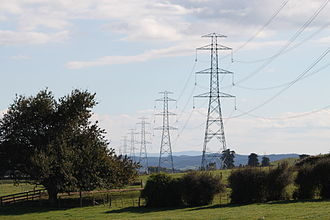 Natural monopoly - In small countries like New Zealand, electricity transmission is a natural monopoly. Due to large fixed costs and a small market size, one seller can serve the entire market at the downward-sloping section of its average cost curve.