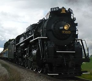 Nickel Plate 765 - Image: NKP 765 at Owosso Better