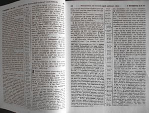 English: Example of page from New World Transl...