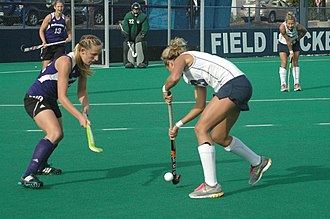 Northwestern Wildcats field hockey - The 2011 Northwestern field hockey team in action at Penn State during the Big Ten Field Hockey Tournament