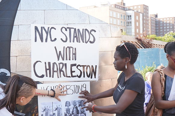 NYC Stands With Charleston Vigil and Rally 22nd June 2015.jpg