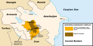 Nagorno-Karabakh conflict ethnic conflict between the Republic of Armenia and Azerbaijan