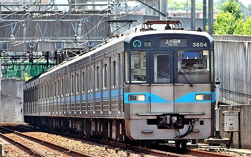 Nagoya Municipal Subway 3050 series 013
