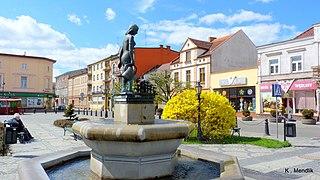 Nakło nad Notecią Place in Kuyavian-Pomeranian Voivodeship, Poland