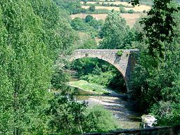 Pont de la Prade over the Dourbie at Nant, Aveyron