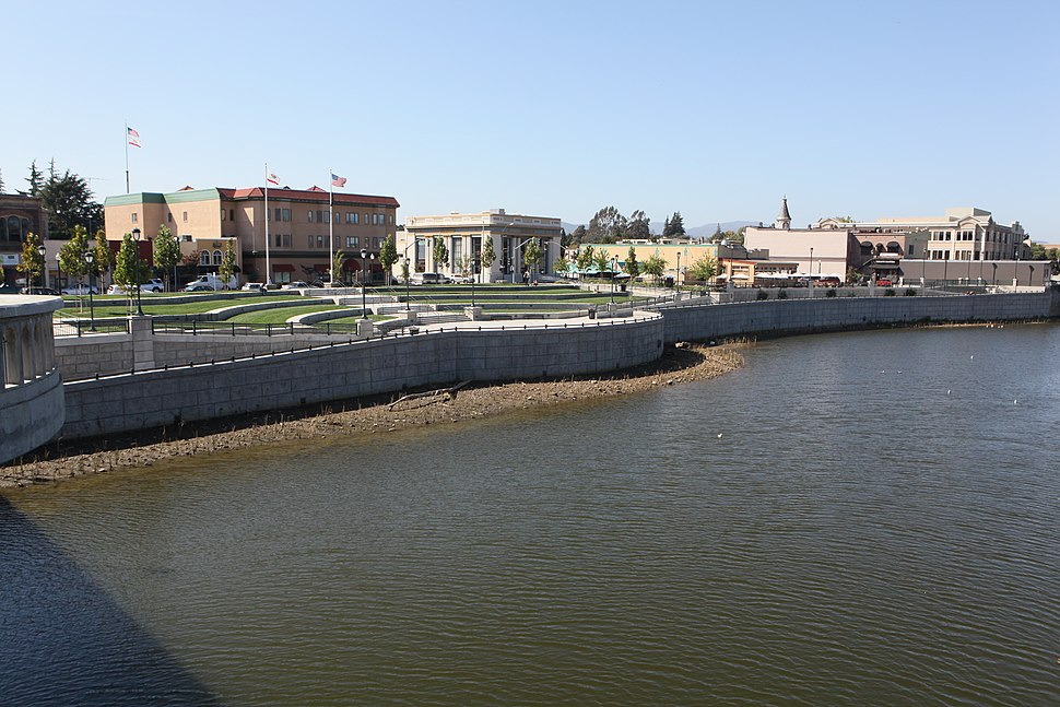 Napa River floodwall USACE