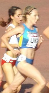 Nataliya Tobias Ukrainian middle-distance runner