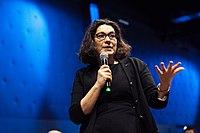 Nathalie Collin lors de la convention La Poste.jpg