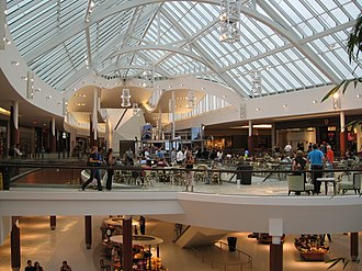 Natick Mall - The upscale wing of the mall, 2007