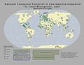 National Ecological Footprint of Consumption Compared to Total Biocapacity.jpg