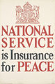 National Service is Insurance for Peace Art.IWMPST14652.jpg
