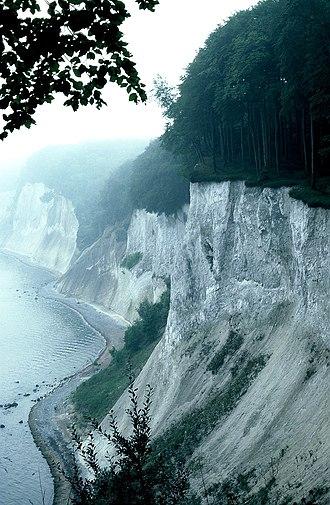 Jasmund National Park - Cliffs and coastline in the national park