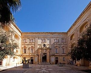 Palazzo Vilhena - Forecourt of Palazzo Vilhena
