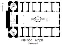 Nauvoo Temple basement