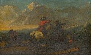 Scene from Cavalry Battle