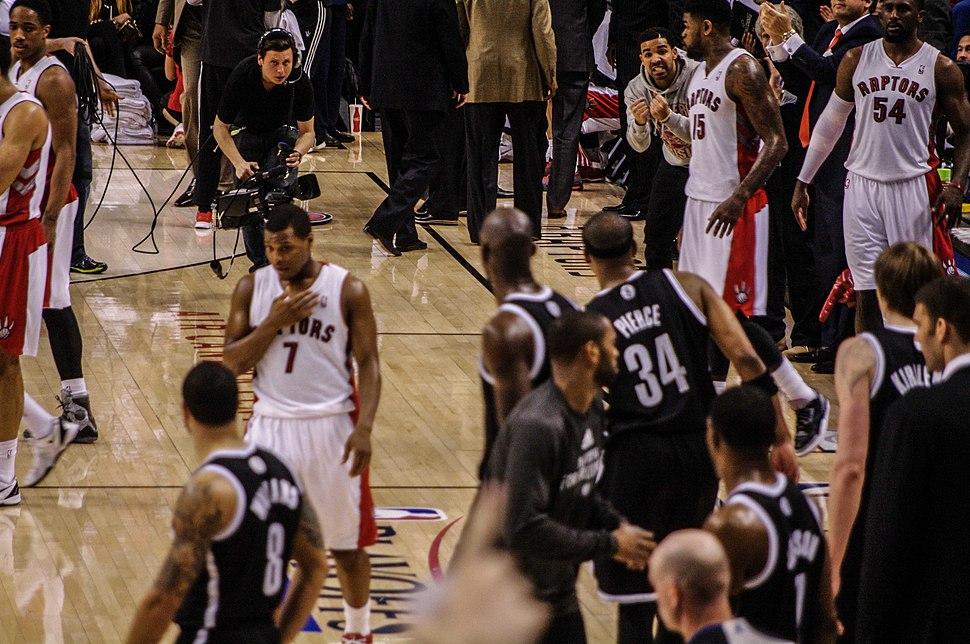 Nets vs Raptors Game 2 2014 playoffs