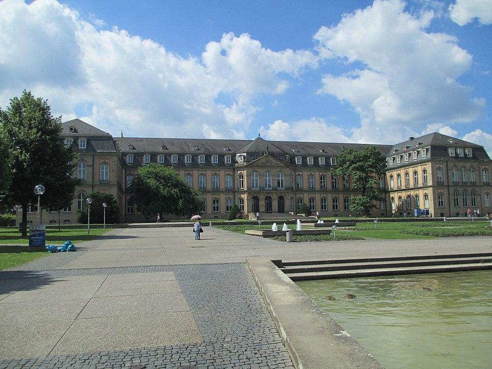 Neues Schloss, Stuttgart - view from the north