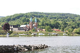 Neustadt with parish church