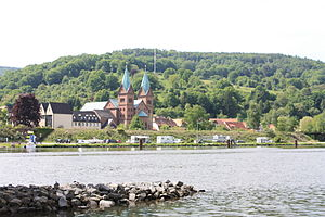 Neustadt am Main - Neustadt with parish church