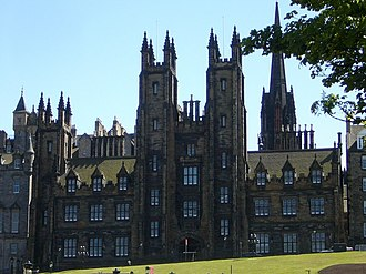 University of Edinburgh - The university's New College building