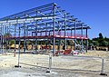 New Fire Station under construction (geograph 2391446).jpg