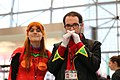 New York Comic Con 2014 - Asuka & Gendo (15314039119).jpg