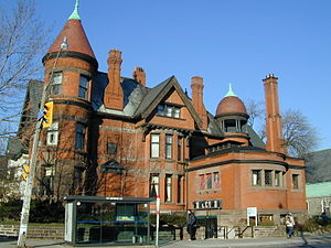 Newman Centre, Toronto - Image: Newman Centre South Side