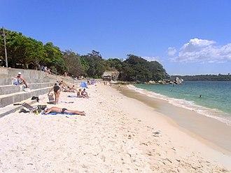Nielsen Park - Shark Beach at Nielsen Park