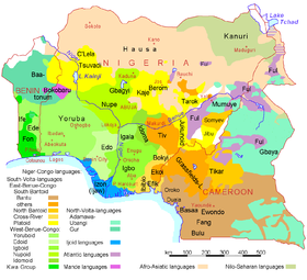 Image illustrative de l'article Langues du Nigeria