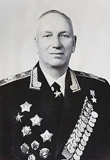 Nikolay Voronov Soviet military commander, Chief marshal of the artillery