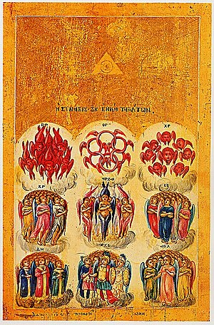 Christian angelic hierarchy - Wikipedia, the free encyclopedia