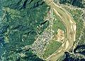 Nishijima Minobu district Aerial photo.1976.jpg