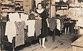 Nje grua duke punuar ne fabriken e pare te Trikotazhit ne Korce.jpg