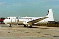 NoReg B.Ae 748 Srs 2 SATA Air Acores MAN JUN89 (5947417196).jpg