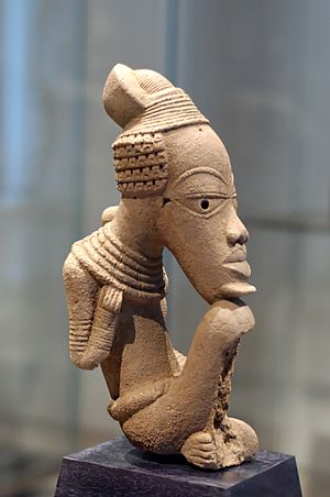 Nok culture - Nok sculpture, terracotta, Louvre