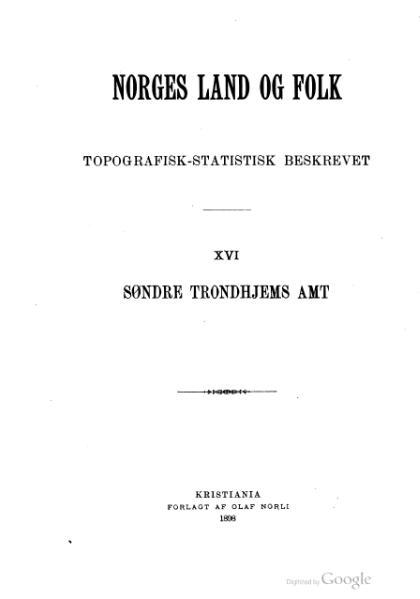 File:Norges land og folk - Søndre Trondhjems amt 1.djvu
