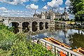 North-west exposure of the Chambord Castle 06.jpg