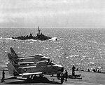 North American FJ-4B Furies of VA-146 aboard USS Ranger (CVA-61), in 1959.jpg