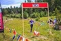 North American Orienteering Championships - Cranbrook-Kimberley.Marie-Cat gives her all at the finish line - (15587035394).jpg