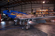 North American P-51D-10-NA Mustang Slender Tender and Tall LSideFront Stallion51 19Jan2012 (14980780851).jpg