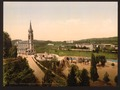 Notre Dame from Mount Calvary, Lourdes, Pyrenees, France-LCCN2001698647.tif