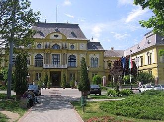 Szabolcs-Szatmár-Bereg County - Countyhall of Szabolcs-Szatmár-Bereg.