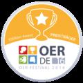 OER Festival 2016 - Badge - fOERder-Award.png